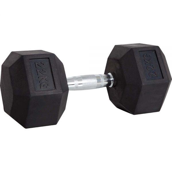 Amila Αλτηράκι Εξάγωνο με Επικάλυψη Λάστιχου 22kg