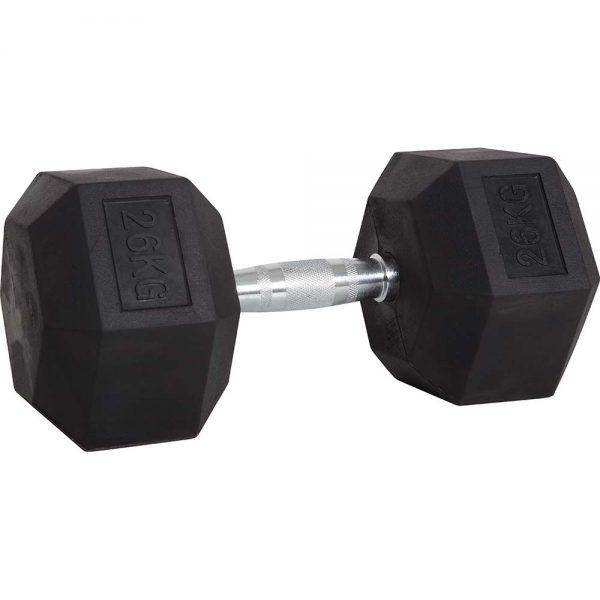 Amila Αλτηράκι Εξάγωνο με Επικάλυψη Λάστιχου 26kg