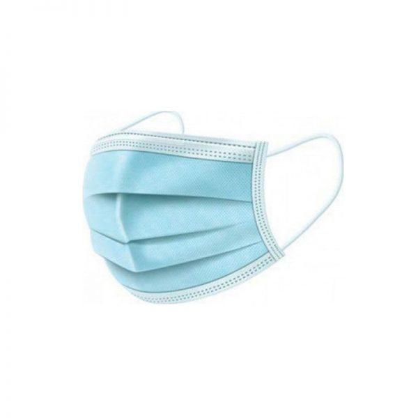 Μάσκες Ιατρικές με Λάστιχο μιας Χρήσης Μπλε