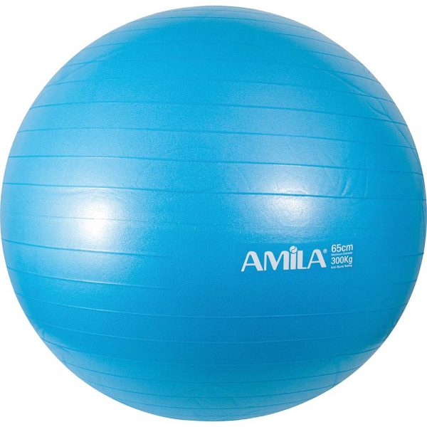 Amila Μπάλα Γυμναστικής Μπλε 65cm