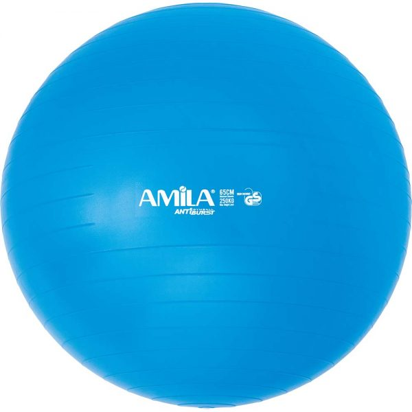 Amila Μπάλα Κινησιοθεραπείας Ατρύπητη Μπλε 65cm