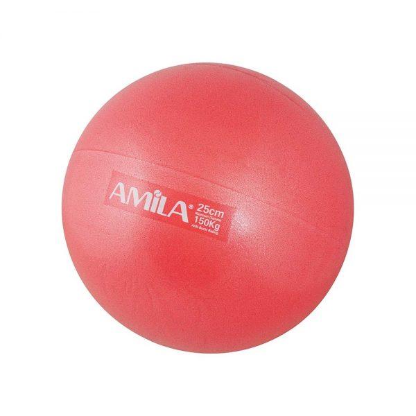 Amila Μπάλα Pilates Κόκκινη 19cm