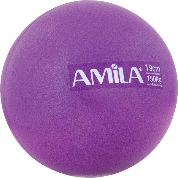 Amila Μπάλα Pilates Μωβ 19cm