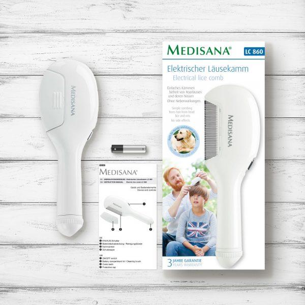 Medisana Ηλεκτρική Χτένα για Ψείρες LC-860