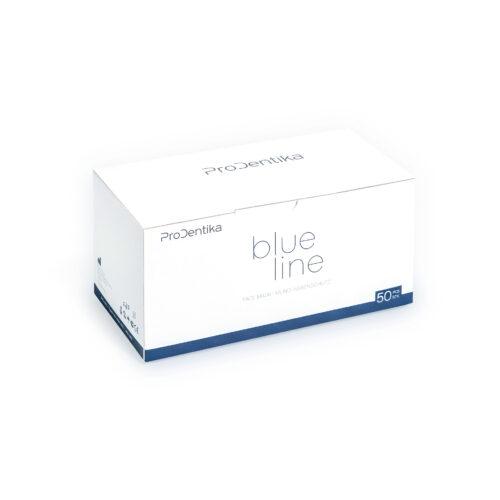 Μάσκες Ιατρικές με Λάστιχο μιας Χρήσης Ελληνικής Παραγωγής 3ply, BFE >99.91%, Type IIR, Μπλε